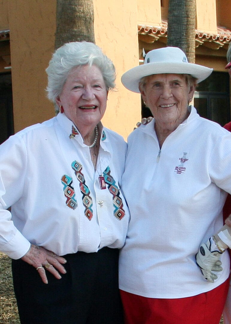 LPGA Co-Founders Marilynn Smith & Shirley Spork